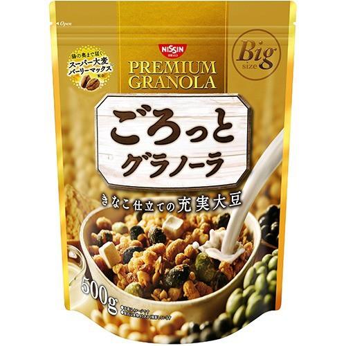ごろっとグラノーラ きなこ仕立ての充実大豆(500g)(発送可能時期:3-7日(通常))[シリアル]