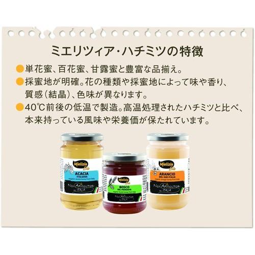 ミエリツィア オレンジの有機ハチミツ(400g)(発送可能時期:1週間-10日(通常))[はちみつ]