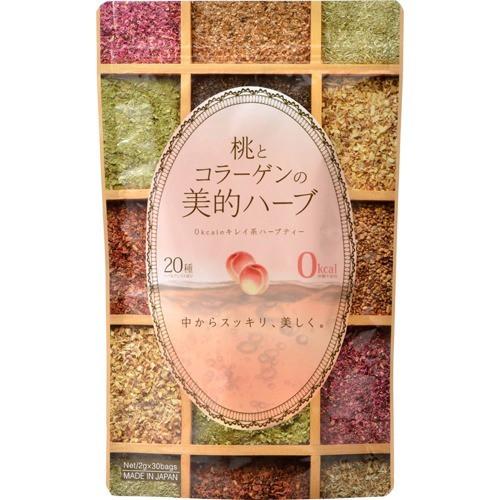 桃とコラーゲンの美的ハーブ(30袋入)(発送可能時期:2週間以上)[滋養強壮ドリンク]