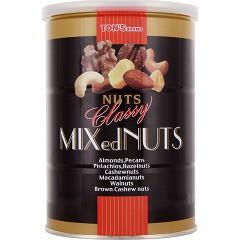 東洋ナッツ食品 クラッシー ミックスナッツ 缶(360g)(発送可能時期:3-7日(通常))[豆菓子]