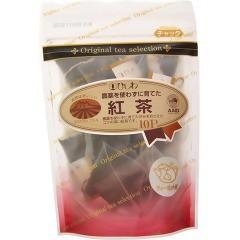 ひしわ 農薬を使わずに育てた紅茶 ティーポット用(10袋入)(発送可能時期:3-7日(通常))[紅茶のティーバッグ・茶葉(ストレート)]