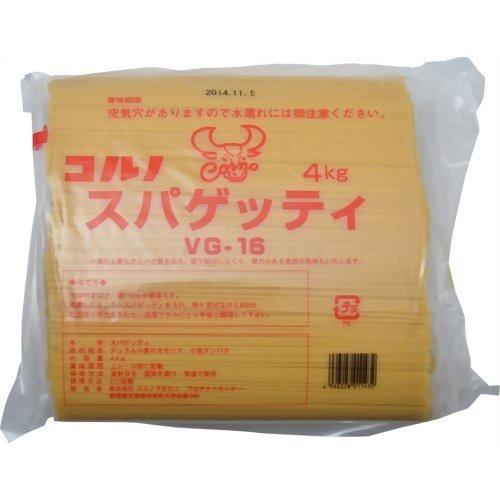 コルノ スパゲッティ VG-16(4kg)(発送可能時期:2週間以上)[パスタ]