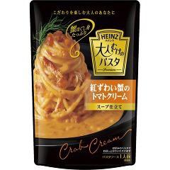 ハインツ 大人むけのパスタ 紅ずわい蟹のトマトクリーム スープ仕立て(180g)(発送可能時期:3-7日(通常))[パスタソース]