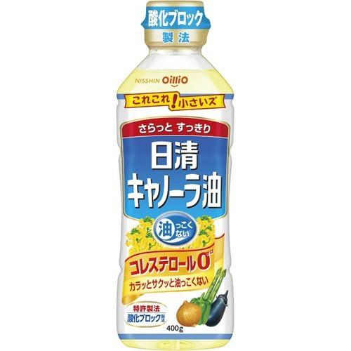 日清 キャノーラ油(400g)(発送可能時期:3-7日(通常))[サラダ油・てんぷら油]