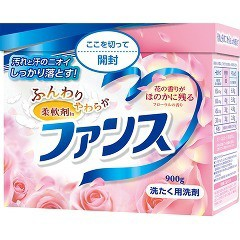 ファンス ふんわりやわらか柔軟剤IN 洗たく用洗剤(900g)(発送可能時期:1週間-10日(通常))[柔軟剤入り洗濯洗剤(粉末)]