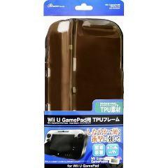 Wii U GamePad用 TPUフレーム クリアブラック ANS-WU006BK(1コ入)(発送可能時期:1週間-10日(通常))[家庭用ゲーム機]