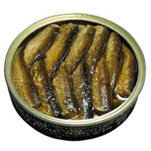 リバワ 燻製イワシ(スプラット)オイル漬け(160g)(発送可能時期:1週間-10日(通常))[水産加工缶詰]