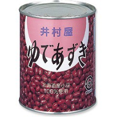 井村屋 ゆであずき 2号缶(1000g)(発送可能時期:1週間-10日(通常))[野菜加工缶詰]