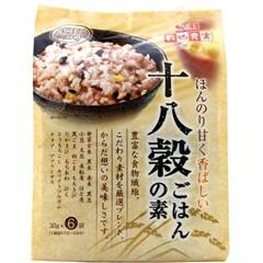 穀物充実 十八穀ごはんの素(30g*6袋入)(発送可能時期:3-7日(通常))[雑穀]