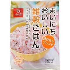 まいにちおいしい雑穀ごはん(25g*6袋入)(発送可能時期:1週間-10日(通常))[雑穀]