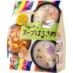 手軽に選べるスープはるさめ 韓国風(6食入)(発送可能時期:1週間-10日(通常))[インスタントスープ]