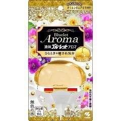 液体ブルーレットおくだけ アロマ エキゾチックなオリエンタルアロマの香り(70g)(発送可能時期:3-7日(通常))[芳香洗浄剤 設置タイプ]