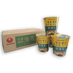 本場韓国 海苔ラーメン ケース(75gx12)(発送可能時期:1週間-10日(通常))[カップ麺]