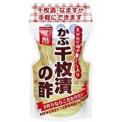 かぶ千枚漬の酢 とりたての一番だし入り(400mL)(発送可能時期:2週間以上)[果実酢(健康酢)]