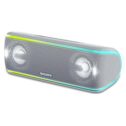 大人気の WC ソニー SRS-XB41 ワイヤレスポータブルスピーカー ホワイト(1台)[スピーカー]-オーディオ