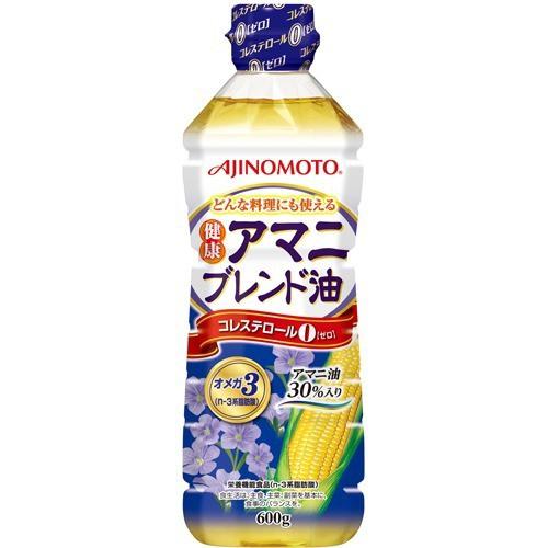 味の素 健康アマニブレンド油(600g)(発送可能時期:3-7日(通常))[サラダ油・てんぷら油]