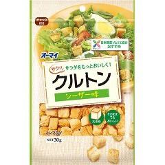 オーマイ クルトン シーザー味(30g)(発送可能時期:3-7日(通常))[インスタント食品 その他]