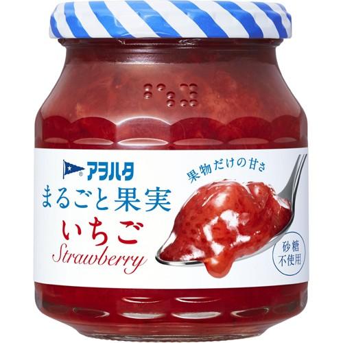 【アヲハタ まるごと果実 いちご 255g】