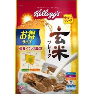 【ケロッグ 玄米フレーク 徳用袋 400g】