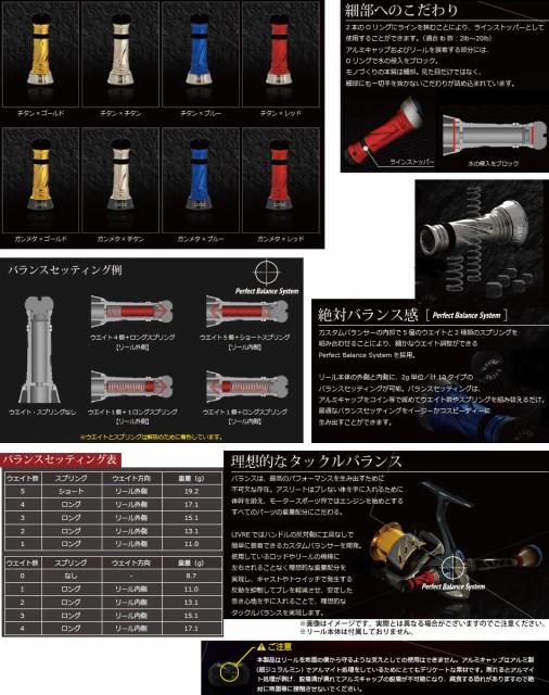 ●メガテック カスタムバランサー(シマノ1000~C2000)C2タイプCB-CA2 【メール便配送可】