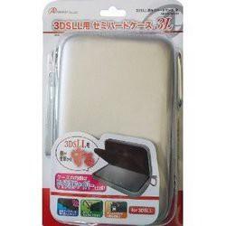 【新品】3DS LL用「セミハードケース 3L」(シルバー)[お取寄せ品]