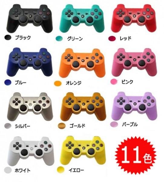 【新品】【PS3HD】【海外製】ワイヤレスコントローラ互換パープル[お取寄せ品]