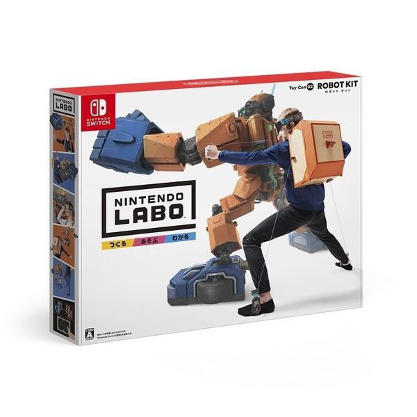 【新品】【NS】Nintendo Labo Toy-Con 02: Robot Kit[在庫品]