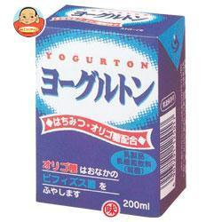 【送料無料】【2ケースセット】ヨーグルトン乳業 ヨーグルトン 200ml紙パック×16本入×(2ケース)