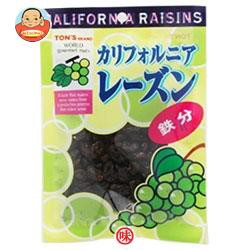 【送料無料】東洋ナッツ食品 トン TR カリフォルニアレーズン 85g×10袋入