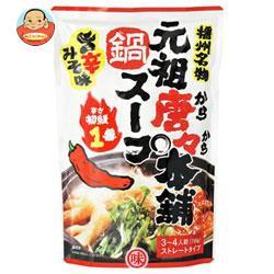 【送料無料】田靡製麺 元祖唐々本舗鍋の素 辛さ1番 750g×10袋入