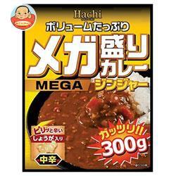 【送料無料】【2ケースセット】ハチ食品 メガ盛りカレー ジンジャー 300g×20個入×(2ケース)