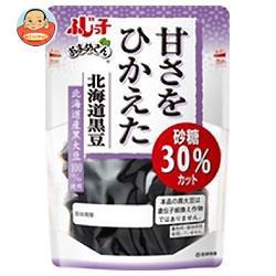 【送料無料】フジッコ おまめさん 甘さをひかえた 北海道黒豆 114g×10袋入