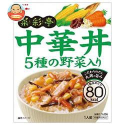【送料無料】グリコ 菜彩亭 中華丼 140g×10個入