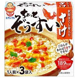 【送料無料】ヒガシマル醤油 ちょっとぞうすい さけ (8g×3袋)×10箱入