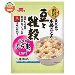 【送料無料】【2ケースセット】イチビキ らくらく炊きたておこわ 豆と雑穀 385g×6袋入×(2ケース)