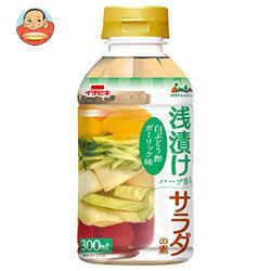 【送料無料】イチビキ 浅漬けサラダの素 白ぶどう酢ガーリック味 300mlペットボトル×12本入