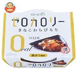 【送料無料】遠藤製餡 ゼロカロリー きなこわらびもち 108g×24個入