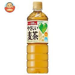 【送料無料】【2ケース】サントリーGREEN DAKARA(グリーン ダカラ) やさしい麦茶【自動販売機用】 600mlペットボトル×24本入×(2ケース)
