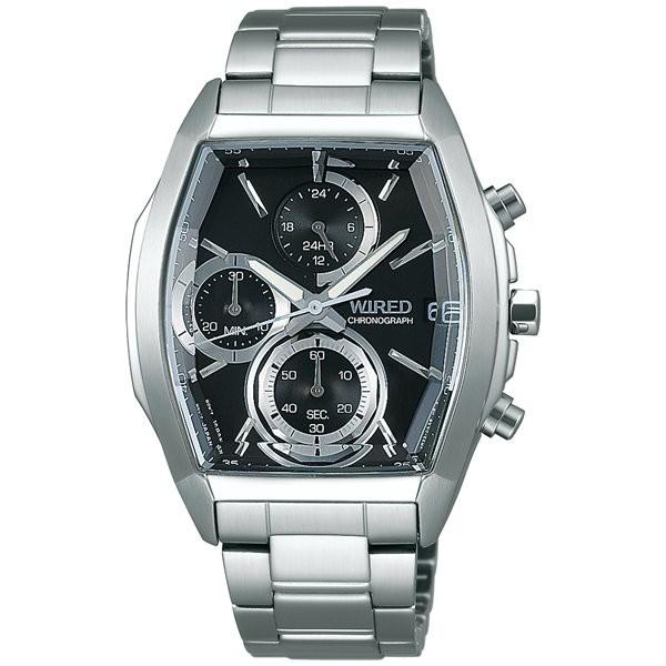 d12c47d141 ワイアード リフレクション AGAV127 セイコー クロノグラフ メンズ 腕時計 REFLECTION SEIKO WIRED