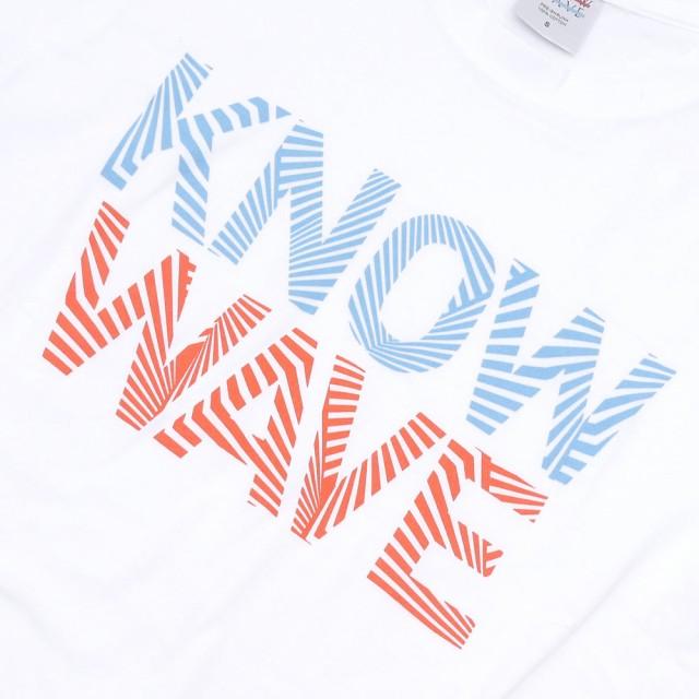 (新品)Know Wave(ノーウェーブ) Dazzle T-Shirt (Tシャツ) WHITE 200-007132-030+(半袖Tシャツ)