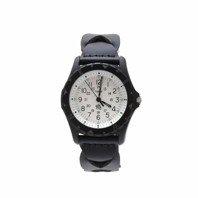 (新品)RHC Ron Herman(ロンハーマン) x TIMEX SAFARI 腕時計 BLACK 287-000195-011x(グッズ)