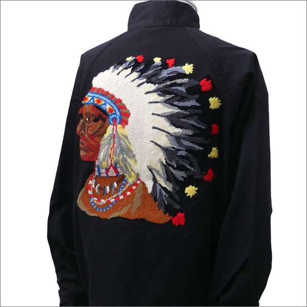 【大注目】 (新品)SUPREME Chief Harrington Jacket BLACK 228-000153-041+【新品】(OUTER), ビビトレク雑貨 3f02de25