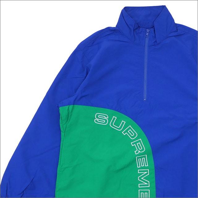 【正規品質保証】 (新品)SUPREME Corner Arc Half Zip Pullover ROYAL 214-000066-144+【新品】(OUTER), スマホアクセサリー 7aac7bd5
