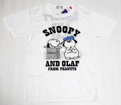 スヌーピー オラフといっしょ Tシャツ S