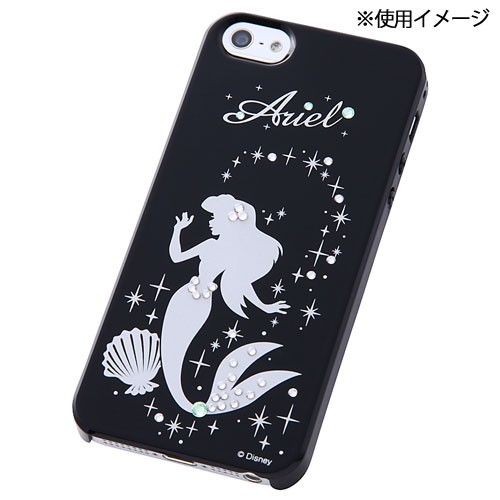5925872085 ディズニー iPhone SE / 5S / 5 専用 ジュエリージャケット アリエル RT-DSP5SA/