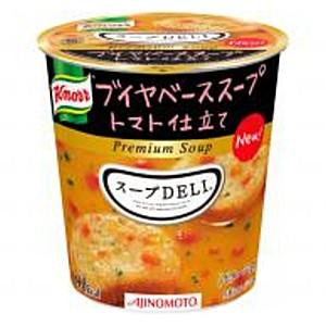 【送料無料2ボール】味の素 クノール スープDELI ブイヤベーススープ トマト仕立て 12個(6個×2ケース)[スープデリ]