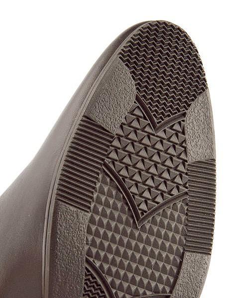 リー サイドゴアブーツ ヒール レディース ネブラスカ 限定モデル ポインテッドトゥ 美脚 NEBRASKA Lee 679008 ダークブラウン