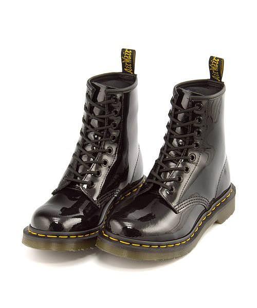 完成品 ドクターマーチン ブーツ レディース 8 ホール ブーツ CORE 1460 W 8 EYELET BOOT Dr.Martens 11821011 ブラックパテントランパー, 東京レッドチェリー 1d918295
