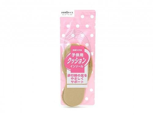 インソール 中敷 衝撃吸収 サイズ調整 通気性 イチゴの香り キッズ 子供用 クッションインソール S(12.0-16.0cm) コロンブス COLUMBUS 94