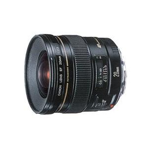 【超お買い得!】 CANON EF20mm USM F2.8 [超広角単焦点レンズ]-カメラ